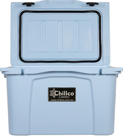 35 Litre Sky Blue Esky Cooler - Open