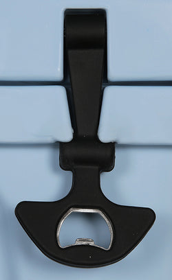 Heavy Duty Rubber T-Latch with built in Bottle Opener