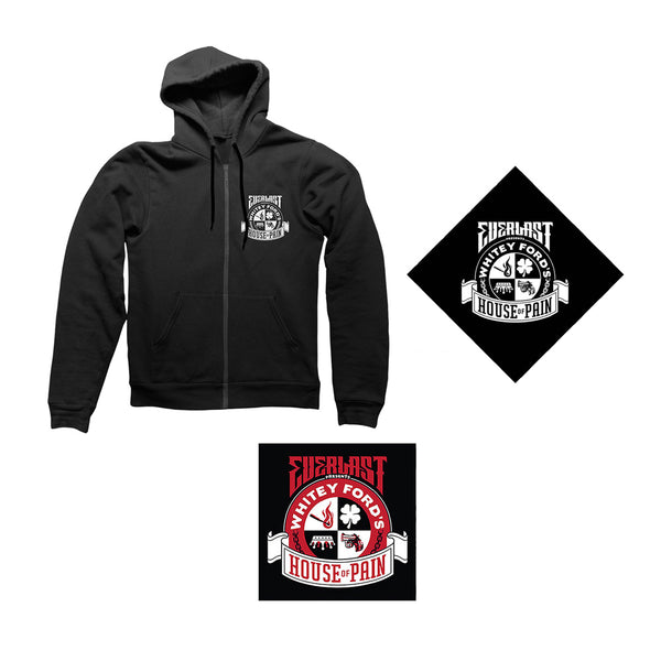 Everlast Presents - Whitey Fords HOP Album Bundle 2 (Hoody)