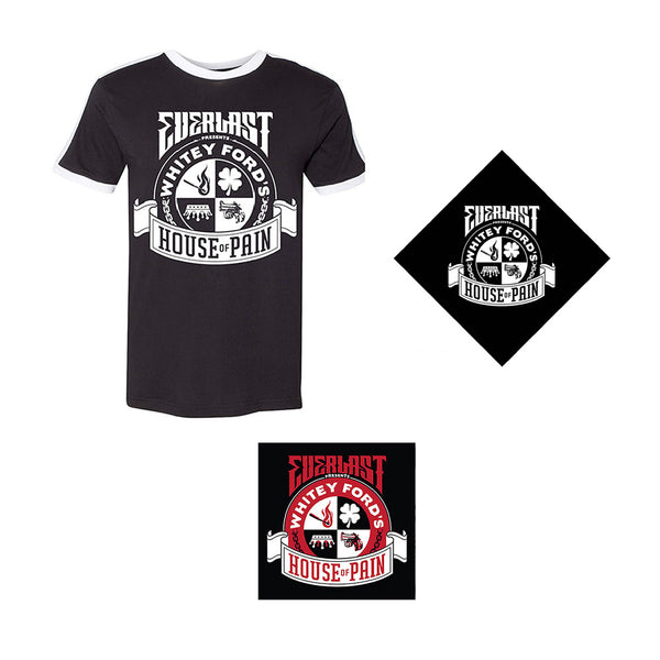 Everlast Presents - Whitey Fords HOP Album Bundle 1 (Ringer Tee)