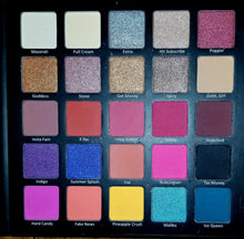 Hot Highly Pigmented 25 color eyeshadow palette