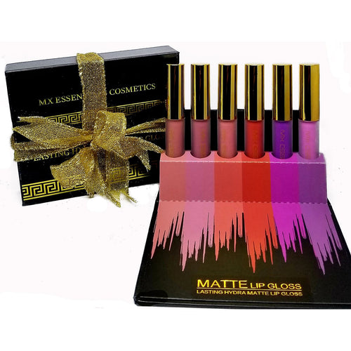 6pc set Lasting Hydra Matte Lip Gloss