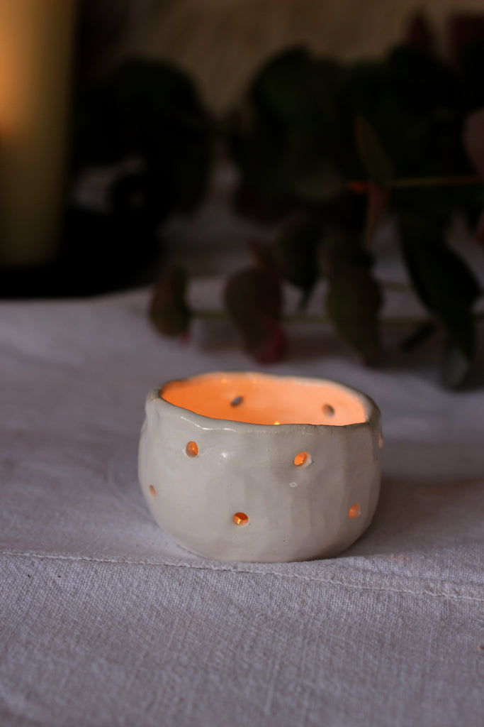 Marigold & Lettice, Handmade Tea Light Votive