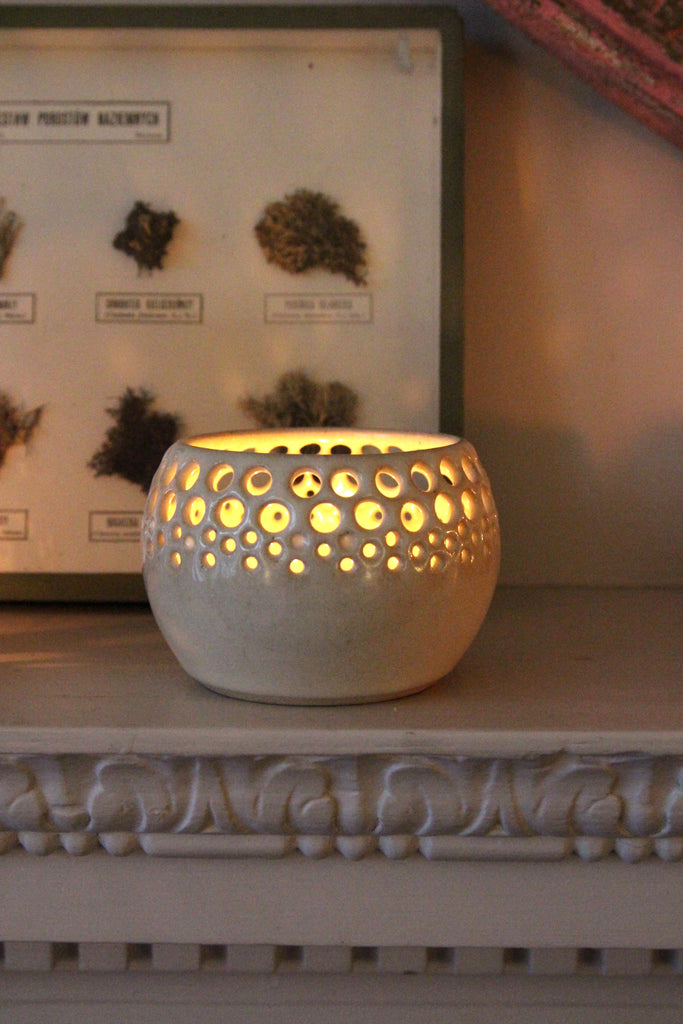 Handmade Tealight Votive Top Globe