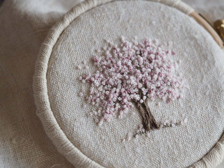 Stitchery Spring Tree - Mini Embroidery Kit
