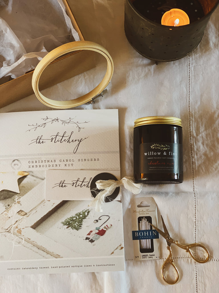 Christmas Eve Wellness with The Stitchery (Luxe)