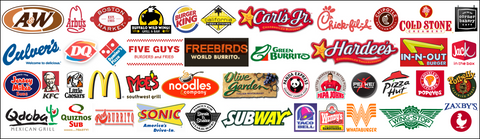 American fast food chains in italy