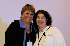 Kim Koeller and Jen Cafferty - GFAF Expos