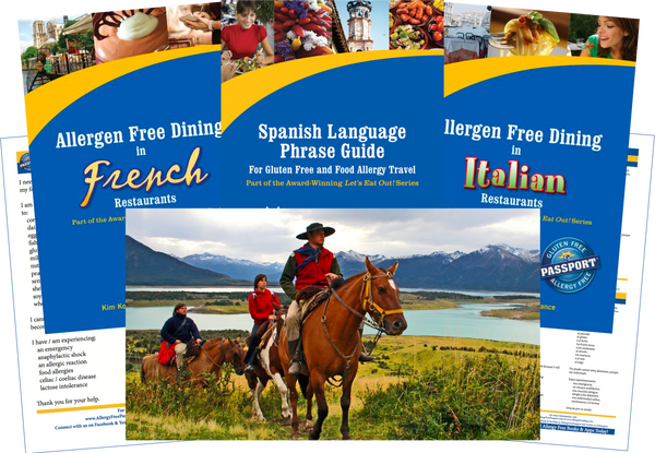 GlutenFree Passport Allergy Free Travel Paks Argentina Food Allergy Travel Bundle