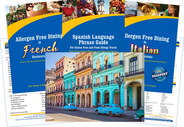 GlutenFree Passport Allergy Free Travel Paks Cuba Food Allergy Travel Bundle