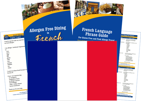 GlutenFree Passport Allergy Free Travel Paks France Food Allergy Travel Kit