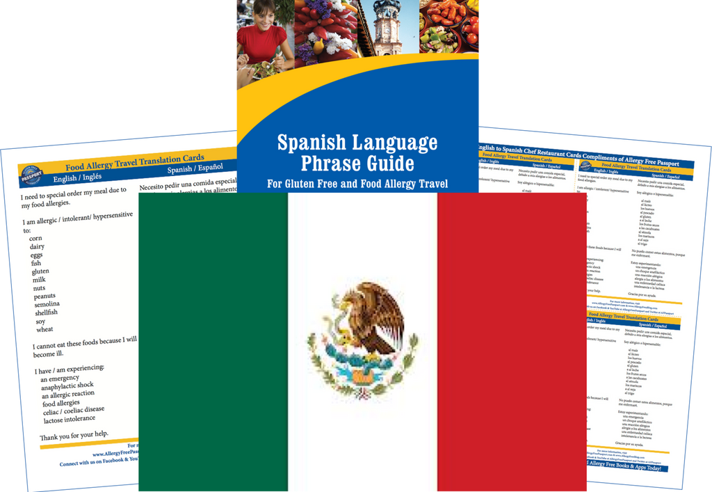 Mexico Food Allergy Travel Bundle For Restaurants And -1330