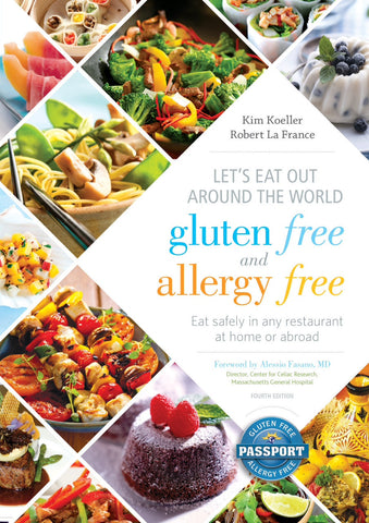 GlutenFree Passport GF AF Paperback Books Let's Eat Out Around the World (PAPERBACK BOOK)