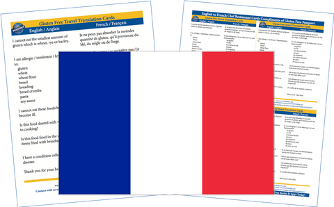 GlutenFree Passport Gluten Free Cards French / English Gluten Free Cards