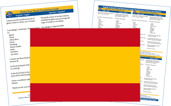 GlutenFree Passport Gluten Free Cards Spanish / English Gluten Free Cards