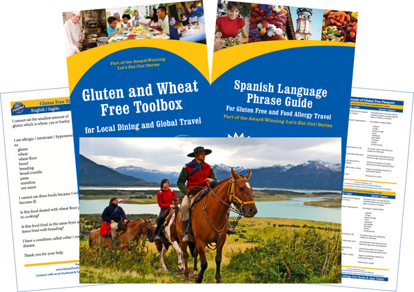 GlutenFree Passport Gluten Free Travel Paks Argentina Gluten Free Travel Bundle