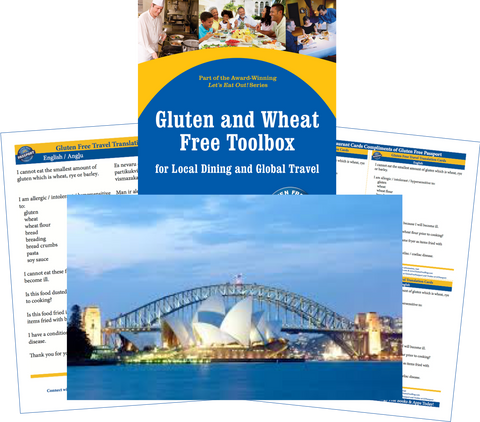 GlutenFree Passport Gluten Free Travel Paks Australia Gluten Free Travel Bundle