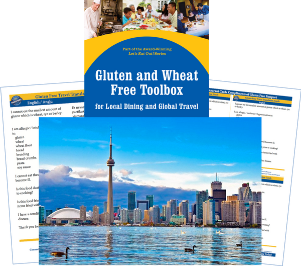 GlutenFree Passport Gluten Free Travel Paks Canada Gluten Free Travel Bundle
