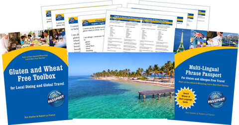 GlutenFree Passport Gluten Free Travel Paks Caribbean Gluten Free Travel Bundle