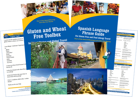 GlutenFree Passport Gluten Free Travel Paks Central America Gluten Free Travel Bundle