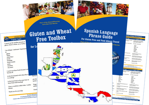 GlutenFree Passport Gluten Free Travel Paks Central America Gluten Free Travel Kit