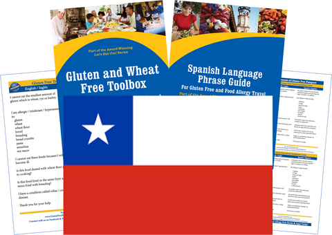 GlutenFree Passport Gluten Free Travel Paks Chile Gluten Free Travel Kit