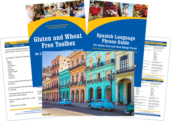 GlutenFree Passport Gluten Free Travel Paks Cuba Gluten Free Travel Bundle