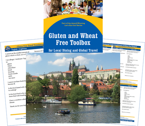 GlutenFree Passport Gluten Free Travel Paks Czech Republic Gluten Free Travel Bundle