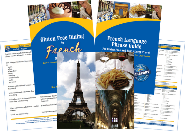 GlutenFree Passport Gluten Free Travel Paks France Gluten Free Travel Bundle