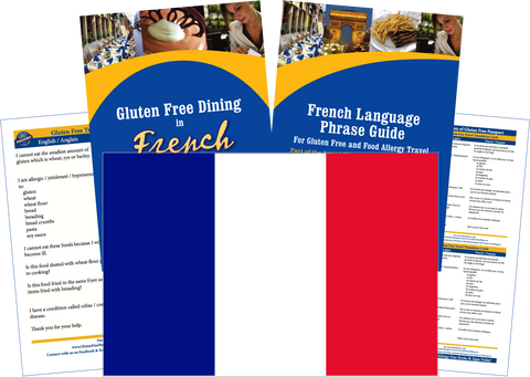 GlutenFree Passport Gluten Free Travel Paks France Gluten Free Travel Kit