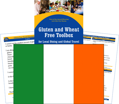 GlutenFree Passport Gluten Free Travel Paks Ireland Gluten Free Travel Kit