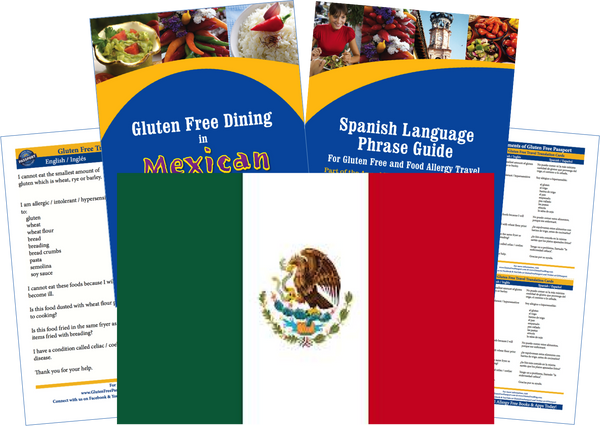 GlutenFree Passport Gluten Free Travel Paks Mexico Gluten Free Travel Kit