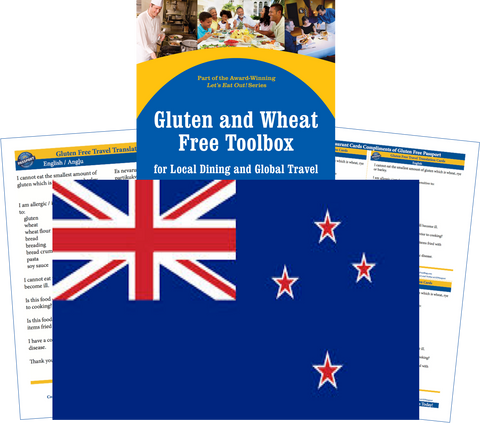 GlutenFree Passport Gluten Free Travel Paks New Zealand Gluten Free Travel Kit