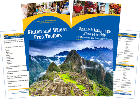 GlutenFree Passport Gluten Free Travel Paks Peru Gluten Free Travel Bundle