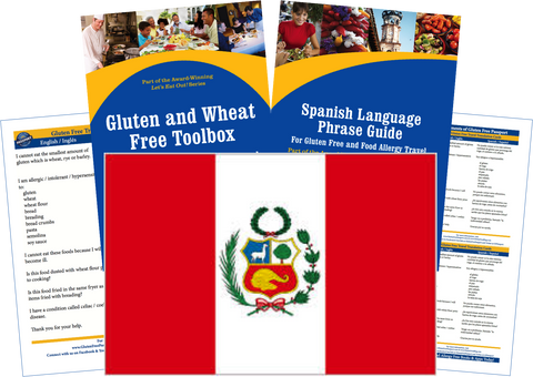 GlutenFree Passport Gluten Free Travel Paks Peru Gluten Free Travel Kit