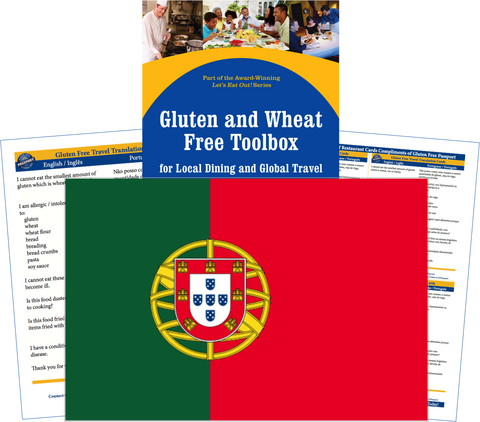 GlutenFree Passport Gluten Free Travel Paks Portugal Gluten Free Travel Kit