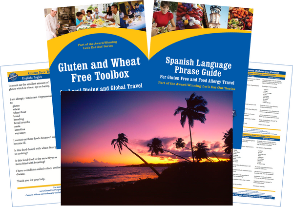 GlutenFree Passport Gluten Free Travel Paks Puerto Rico Gluten Free Travel Bundle