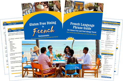 GlutenFree Passport Gluten Free Travel Paks St. Martin Gluten Free Travel Bundle