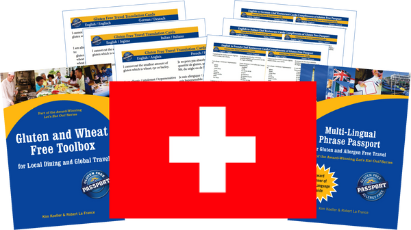 GlutenFree Passport Gluten Free Travel Paks Switzerland Gluten Free Travel Kit
