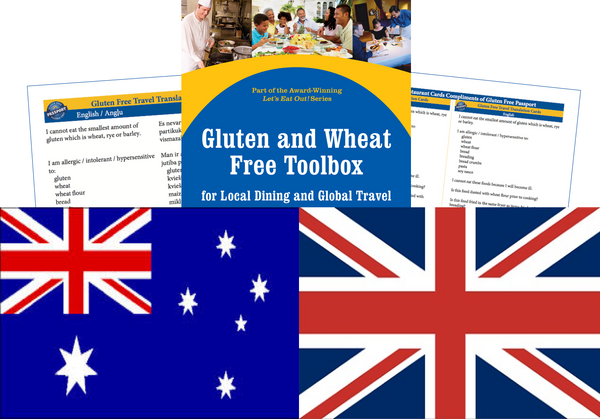 GlutenFree Passport Gluten Free Travel Paks UK Gluten Free Travel Kit