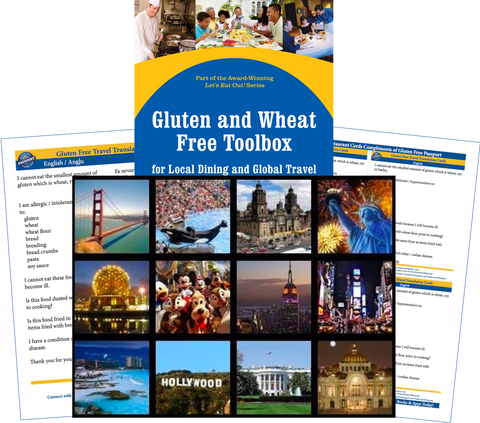 GlutenFree Passport Gluten Free Travel Paks USA Gluten Free Travel Bundle