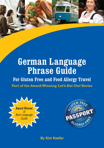 GlutenFree Passport Language Phrase Guides German / English Phrase Translation Ebook
