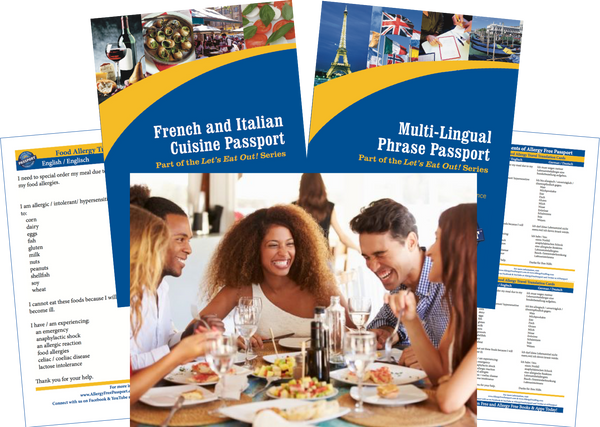 GlutenFree Passport Travel Paks (Paper) Austria Food Allergy Travel Bundle (PAPER)