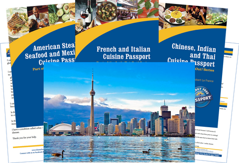 GlutenFree Passport Travel Paks (Paper) Canada Gluten Free Travel Bundle (PAPER)