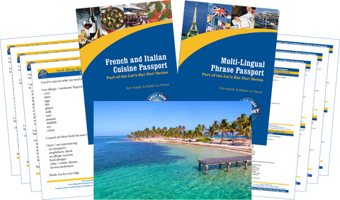 GlutenFree Passport Travel Paks (Paper) Caribbean Food Allergy Travel Bundle (PAPER)