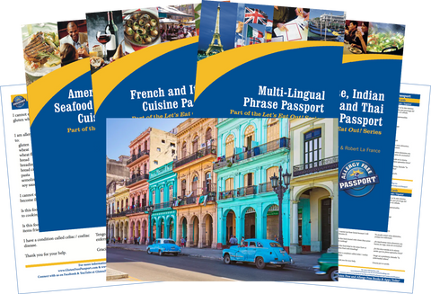 GlutenFree Passport Travel Paks (Paper) Cuba Gluten Free Travel Bundle (PAPER)