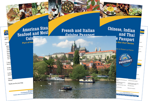 GlutenFree Passport Travel Paks (Paper) Czech Republic Gluten Free Travel Bundle (PAPER)