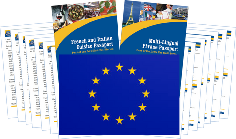 GlutenFree Passport Travel Paks (Paper) Europe Food Allergy Travel Kit (PAPER)