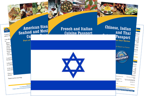 GlutenFree Passport Travel Paks (Paper) Israel Gluten Free Travel Kit (PAPER)