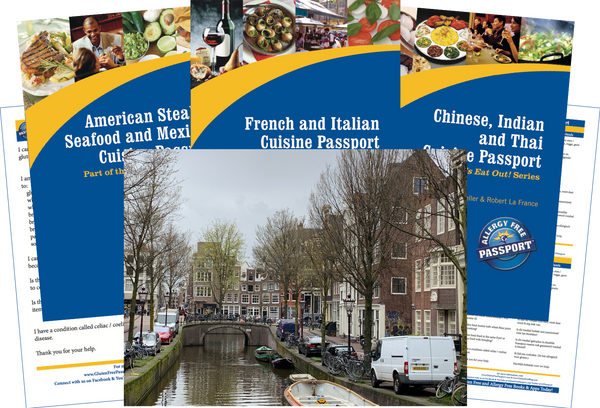 GlutenFree Passport Travel Paks (Paper) Netherlands Gluten Free Travel Bundle (PAPER)
